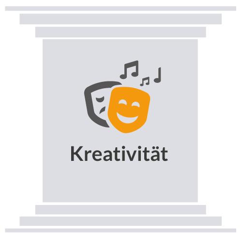 Saeule-Kreativität