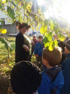 Zusammenarbeit mit Obst- und Gartenbauverein