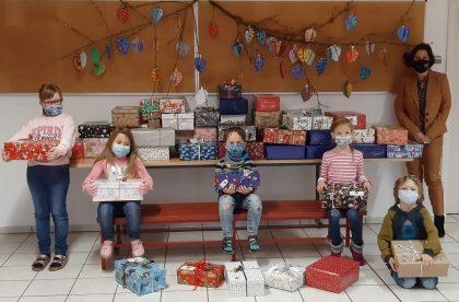 Weihnachtspäckchen-Konvoi